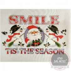 DEGA - smile tis' the season - 29x17cm