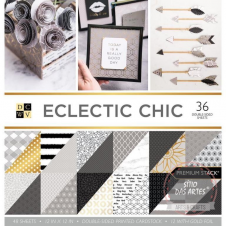 Paper Pad - PS-005-00529-Eclectic chic - 30,5x30,5cm