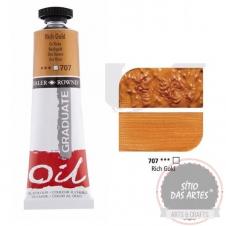 Tinta de óleo Graduate - 707-rich gold - 38ml